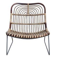 Kawa Lounge Chair, 180
