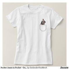 Pocket Jamie Fraser in Pocket - Outlander T Shirt