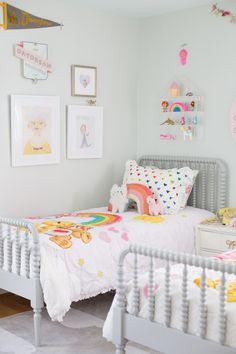Shared Room Ideas for three girls on LayBabyLay.com