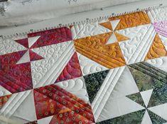 Top šila Jana Antáleková Applique Quilts, Quilting, Blanket, Fabric, Top, Tejido, Tela, Cloths, Fat Quarters