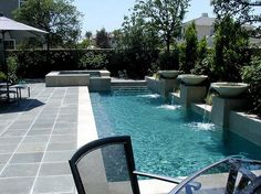Cool 50+ Amazing Small Backyard Designs with Swimming Pool http://gardenmagz.com/50-amazing-small-backyard-designs-with-swimming-pool/
