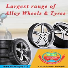 If you are looking for the best source of a wide range of quality alloy wheels & Tyres then visit United Tyre Sales Service. #AlloyWheels #Tyres #Ahmedabad