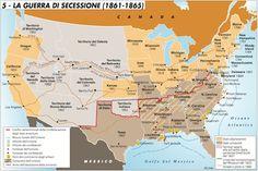La guerra di secessione (1861-1865) - rivista italiana di geopolitica - Limes