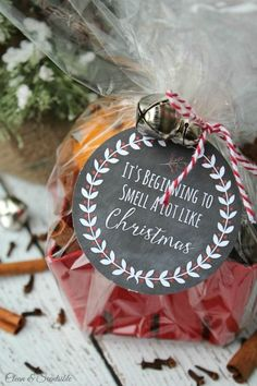 Homemade simmering Christmas potpourri - love the smells of Christmas! // cleanandscentsible.com