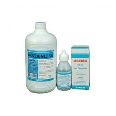 Hidrojen Peroksit Çözeltisi %3-3,5 Sodyum Benzoat (Koruyucu) %0,1  #oksijenlisu
