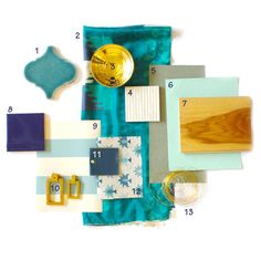 You searched for material board - Emily Henderson Material Board, Gold Material, Material Girls, Living Room Inspiration, Color Inspiration, Colour Schemes, Color Patterns, Color Pallets, Trends