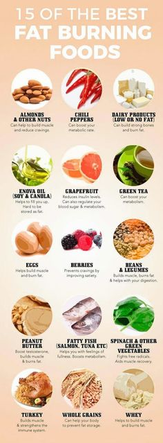 15 of Fat burning foods