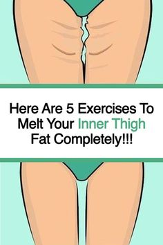Discover ideas about Lose Thigh Fat. 5 Exercises To Melt Your Inner Thigh Fat Completely. Inner thigh fat grows the same way you accumulate fats in other parts of your body. Combattre La Cellulite, Reduce Cellulite, Remove Belly Fat, Lose Belly Fat, Lose Fat, Fitness Workouts, Fat Workout, Workout Routines, Tummy Workout