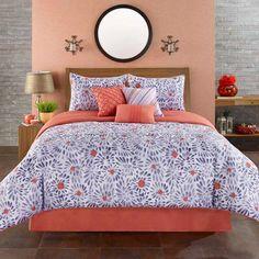 Casa Mia Bedding inspired by Santa Marta.   7-Piece Comforter Set available online at Walmart: http://www.walmart.com/ip/Casa-Mia-Monterrey-7-Piece-Comforter-Set/39092285 #casamia #bedding #santamarta