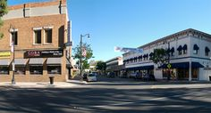 Old Town Orange, California http://fadedandblurred.com/wp-content/uploads/oldTowne.jpg