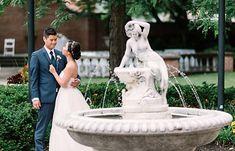 Photo by Amgfotography Photography Ideas, Wedding Photography, Fountain, Garden Sculpture, Centre, Outdoor Decor, Photoshoot Ideas, Water Fountains, Wedding Photos