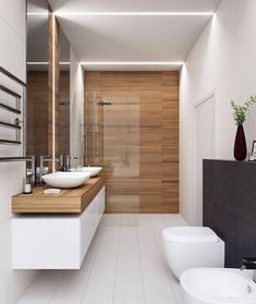 The other small bathroom design ideas are fresh and revolutionary, rethinking what we expect a bathroom design should look like. design badezimmer 10 Small Bathroom Ideas for Minimalist Houses Small Bathroom Remodel Cost, Small Bathroom Tiles, Modern Bathroom Design, Bathroom Interior Design, Bathroom Renovations, Bathroom Designs, Bathroom Goals, Interior Ideas, Bathroom Makeovers