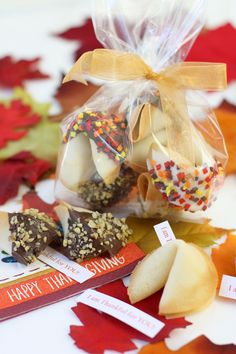 Give Fortune Cookies for Thanksgiving!