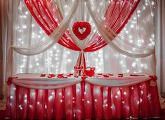 Картинки по запросу оформление свадьбы красного цвета