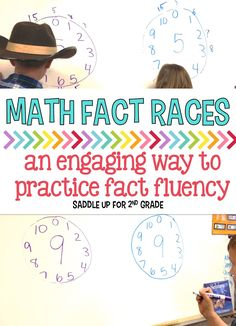 Do the kids in your class get burnt out on practicing math facts? I have a way to solve that. Math Fact Races are a HUGE hit in my classroom and the kids enjoy playing.