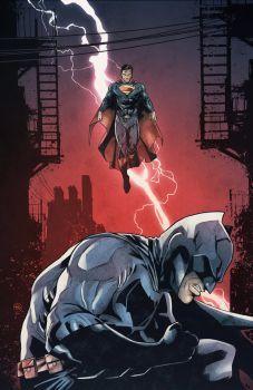 Batman v Superman by LudoDRodriguez