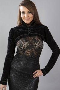 Burleska - Raven Samt Bolero