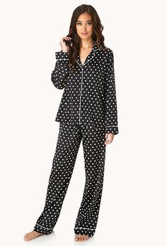 763b498b03 Retro Polka Dot PJ Set This pajama set is perfect for those who want to have  a good night s sleep any day of the week.