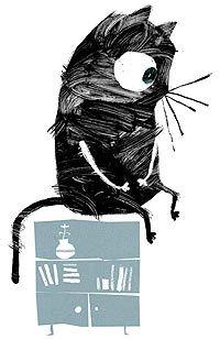 """Почему кошки урчат Почему кошки такие маленькие Почему у кошек на лобике буква """"М"""" автор сказок Тимофей Богданов, иллюстрации мои )"""
