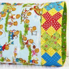 Pillowcase Pattern 24: X-Block Band