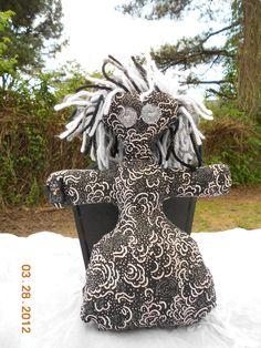 Goddess Doll. $10.00, via Etsy.