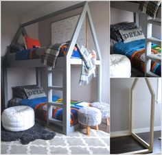 10 Cool DIY Bunk Bed Ideas for Kids 6