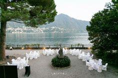 Lake Como wedding reception