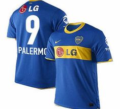 Boca Juniors Nike 2010-11 Boca Juniors Nike Home Shirt (Palermo 9) Official 2010-11 Boca Juniors home shirt available to buy online. The new Boca Juniors football shirt is manufactured by Nike and is available to order in adult sizes S M L XL XXL.This Boca Juniors je http://www.comparestoreprices.co.uk/football-shirts/boca-juniors-nike-2010-11-boca-juniors-nike-home-shirt-palermo-9-.asp