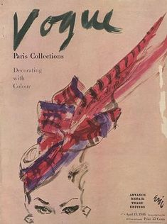 Publication Name | April 15 1946 Vintage Vogue Covers, Usa