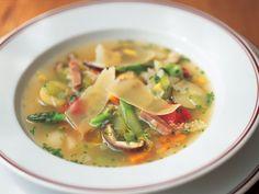 Bouchon: Spring Vegetable Soup