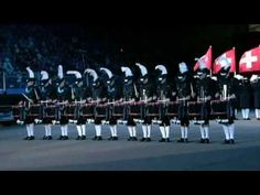 """Top Secret Drum Corps performing at The Royal Edinburgh Military Tattoo... (the word """"Tattoo,"""" is derived from """"Doe den tap toe"""", or just """"tap toe"""")... these guys are from Sweden but have been invited to perform at Edinburgh every year since 2003..."""