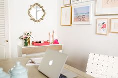 Chic and Functional Office Décor by LaurenConrad.com