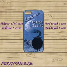 iphone 4 case,iphone 4s case,cute iphone 4 case,iphone 5 case,cute iphone 5 case,Harry Potter,ipod 4 case,ipod 5 case,in plasitc,silicone.by Missyoucase, $12.95