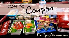 How To Coupon- TheFlyingCouponer.com #couponing Extreme Couponing Tips, Couponing 101, Save On Foods, Grocery Savings Tips, Money Tips, Money Saving Tips, Money Savers, Frugal Living Tips, Frugal Family
