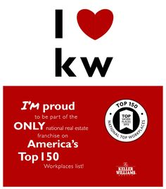 Keller Williams Realty, Inc. Named One of America's Top Workplaces. Keller Williams announced today that WorkplaceDynamics has named it the No. 9 workplace in America – the only national real estate franchising company on the National Top 150 Workplaces l Real Estate Career, Real Estate Business, Selling Real Estate, Real Estate Tips, Real Estate Companies, Real Estate Marketing, Best Mortgage Lenders, Pass Christian, Home Selling Tips