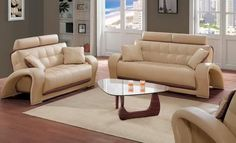 Shop Honey Leather Sofa + Loveseat + Chair with great price, The Classy Home Furniture has the best selection of to choose from Sleeper Sofa, Sofa Bed, Couch, Leather Sofa And Loveseat, Antique Living Rooms, Leather Living Room Set, Living Room Sets, Home Furniture, Love Seat