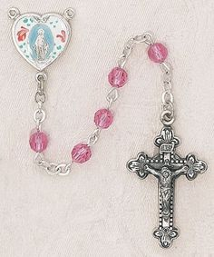 $99.74 Colorful Mother Catholic Rose Swarovski Crystal Rosary Sterling Silver, 5mm Rose Bead 1 1/8 Inches Crucifix by Creed Jewelry, http://www.amazon.com/dp/B00CQMAQFE/ref=cm_sw_r_pi_dp_cLLJrb1SFQGER