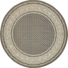 Charlton Home Swinson Geometric Gray Area Rug Rug Size: Round Orange Area Rug, Navy Blue Area Rug, Beige Area Rugs, Yellow Rug, Round Area Rugs, Rugs Online, Colorful Rugs, Rug Size, Gray