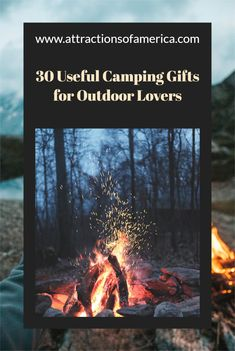 Find fun camping gifts for outdoor lovers. This list contains most useful gift ideas for campers and people who love to go camping. Great camping gifts from camping gadgets, to outdoor clothing, to camping games and so much more. #campinggifts #campinggiftideas #outdoorgifts #giftideascamping Travel Tips, Travel Advise, Travel Ideas, Travel Inspiration, Travel Destinations, Camping Gifts, Go Camping, Party Card Games, Traveling Teacher