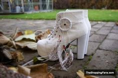 cream boots by Jeffrey Campbell  The Shopping Fans