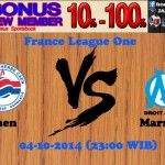 Prediksi Pertandingan Caen Melawan Marseille 4 Oktober 2014 France Ligue One