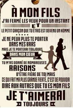 Phrase for a birthday of sons Bricolagefetedesmeres Cadeaufetedesmer Quote Citation, Mantra, French Quotes, Positive Attitude, Positive Affirmations, Proverbs, Inspire Me, Quotations, Life Quotes