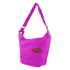 Arkansas Razorbacks NCAA Color Sheen Hobo (Pink)