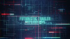 Futuristic Trailer  • After Effects Template • See it in action ➝ https://videohive.net/item/futuristic-trailer/18576185?ref=pxcr