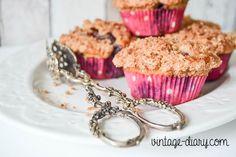 Blaubeermuffins - das Rezept dazu findet ihr auf meinem Blog.