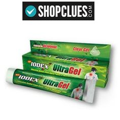 Iodex Ultra Gel Pack of Two at Rs.114 with Free Shipping – Shopclues