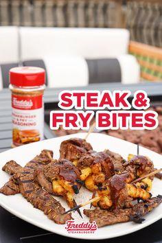 Freddy's Frozen Custard, Swiss Steak, Cube Steak, Fry Sauce, Breakfast Lunch Dinner, Frozen Desserts, Fabulous Foods, Copycat Recipes, Casserole Dishes