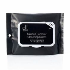 ELF Makeup Remover Cleansing Cloths - one of my favorites Best Makeup Remover, Makeup Remover Wipes, Makeup Wipes, Beauty Products You Need, Best Makeup Products, Elf Products, Facial Products, Free Products, Skin Products