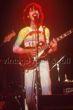 George during his Dark Horse North American Tour in 1974