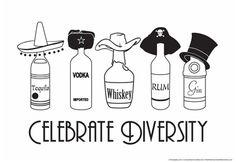 Celebrate Diversity Poster at AllPosters.com